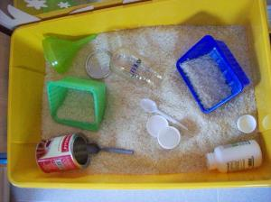 Rice bin activity