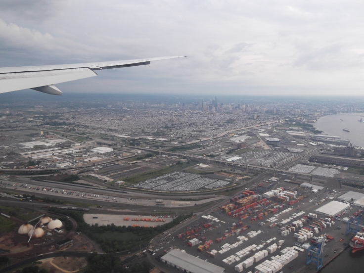 Landing in Philly